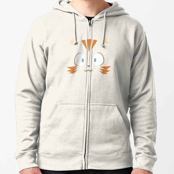 Carrot 'fullscreen' - Pepper&Carrot offficial Zipped Hoodie