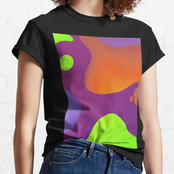 Very Cool, Super Awesome and kind of Pretty Amazing Colorful Abstract Pattern Classic T-Shirt