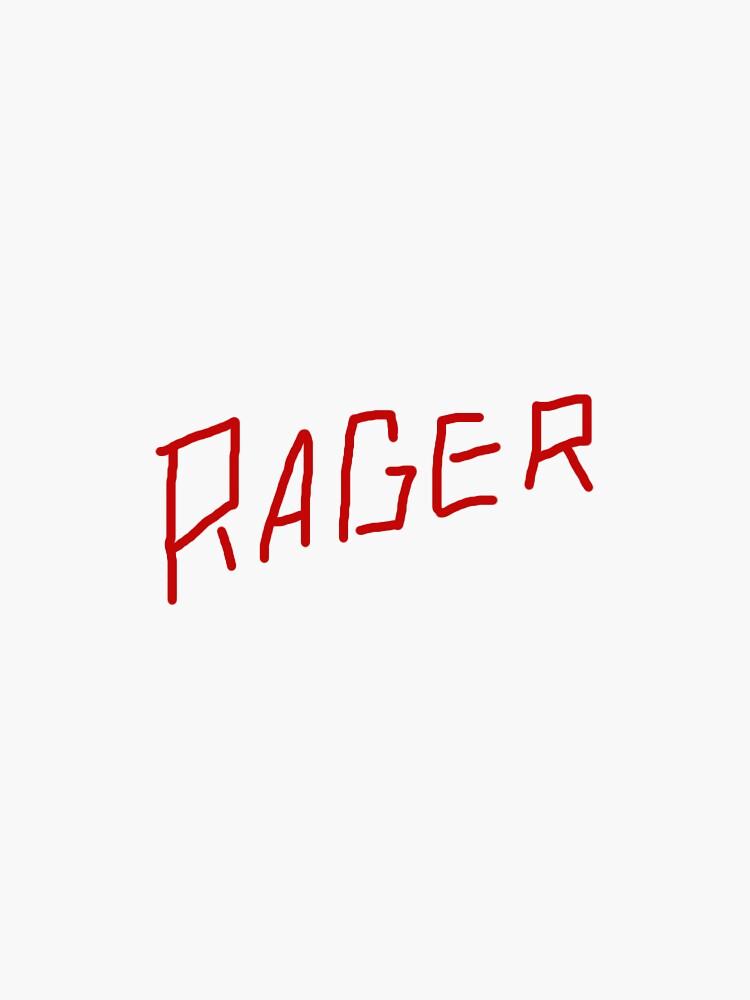 Kid Cudi Travis Scott Rager by alvaronn