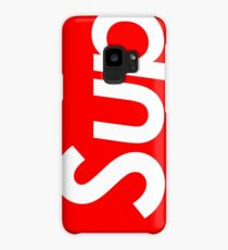 "Supreme style ""sup"" Case/Skin for Samsung Galaxy"