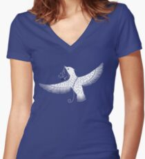 Free Women's Fitted V-Neck T-Shirt