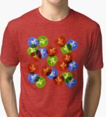 RGB Tomato salad Tri-blend T-Shirt