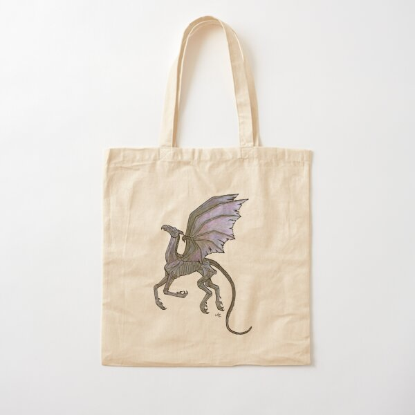 Thestral #3 Cotton Tote Bag