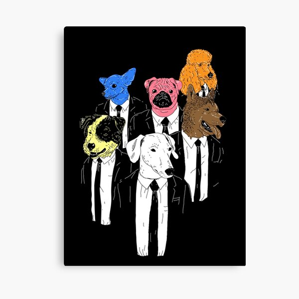 Real Reservoir Dogs Canvas Print