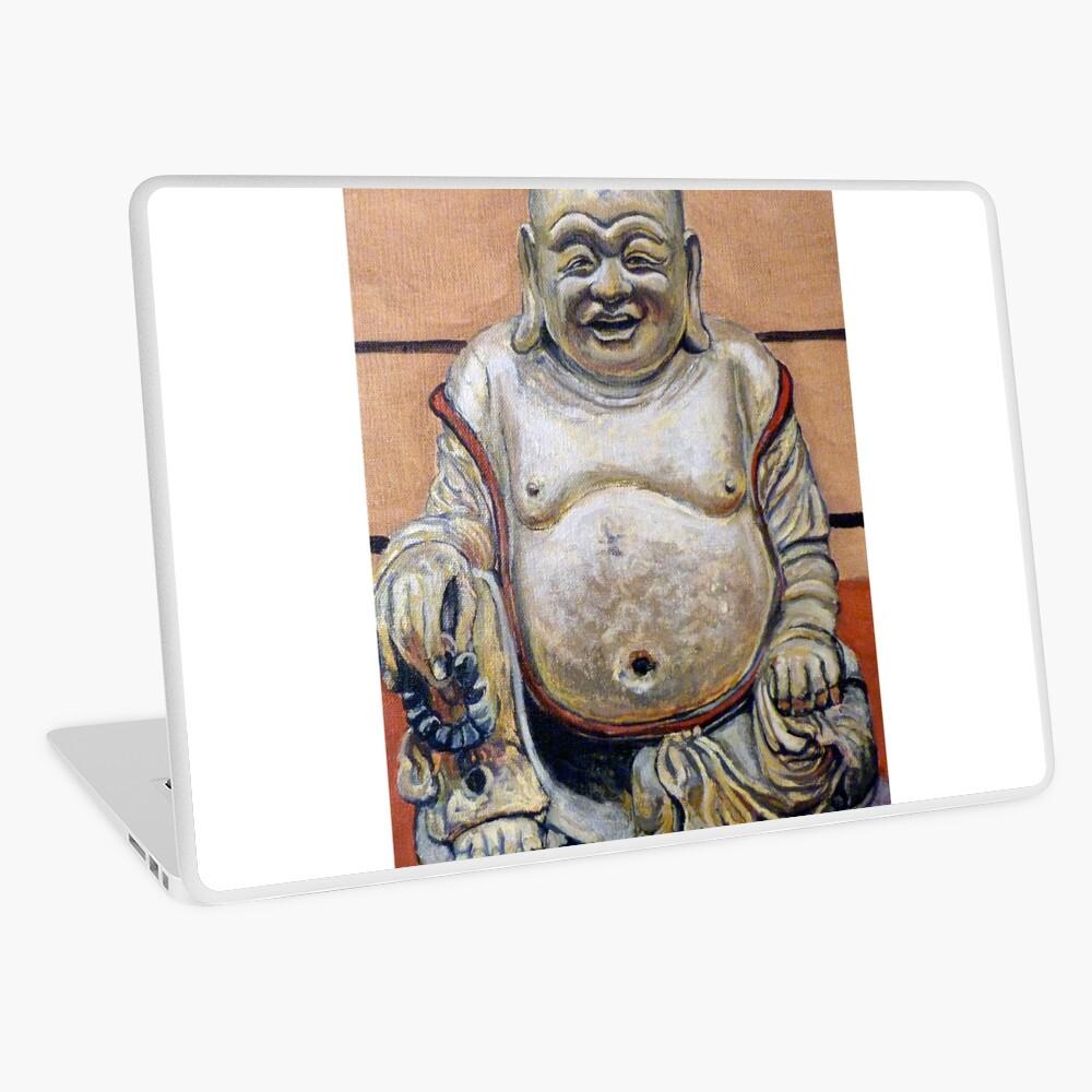 Happy Buddha Laptop Skin