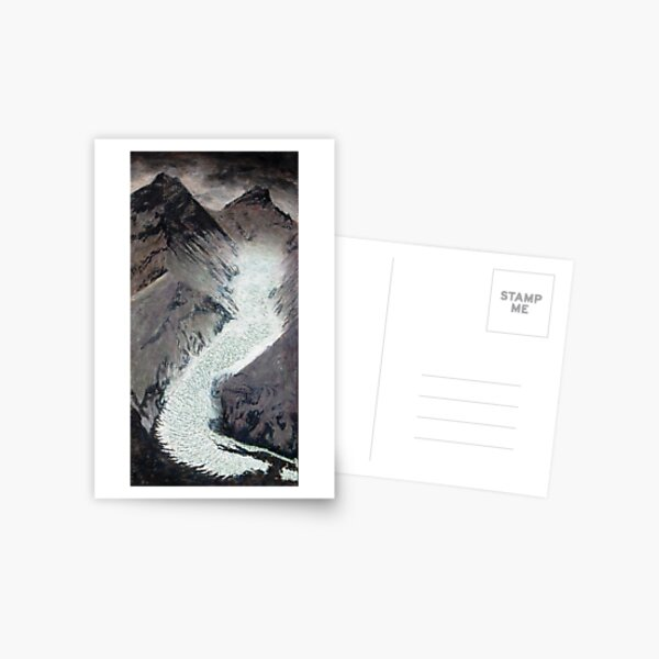 Khumbu icefall Mt. Everest Postcard