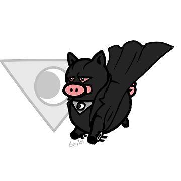 Midnighter Pig! by mistina
