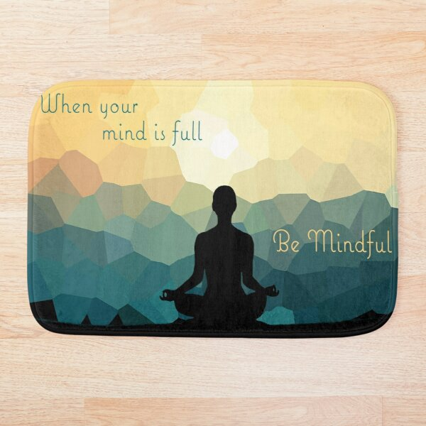 Be Mindful Bath Mat