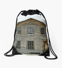 The Past Is Still With Us Drawstring Bag