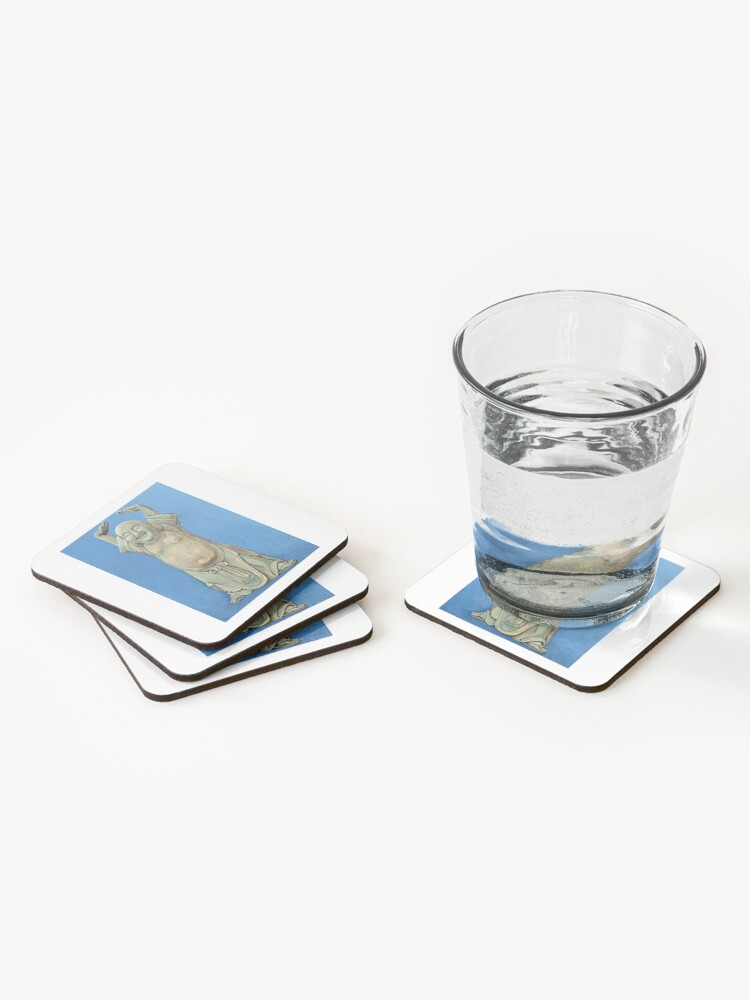 Alternate view of Standing Happy Coasters (Set of 4)