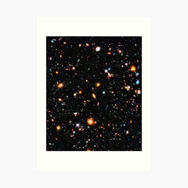 Hubble Extreme Deep Field -  Art Print