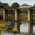 Rail Bridge in Allansford, Victoria by Kayleigh Walmsley