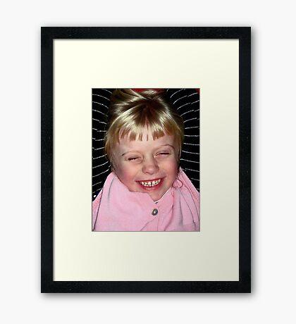 Girls Just Wanna Have Fun... Framed Print