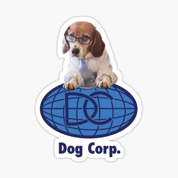 Dog Corp.  Sticker