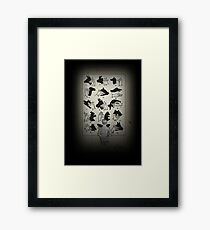 SHADOW PUPPETS (Reworked) Framed Print