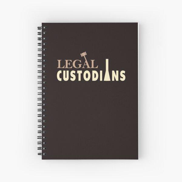 Scrubs Legal Custodians Lawyer Janitor Spiral Notebook