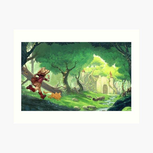 Adventure - Pepper&Carrot official Art Print