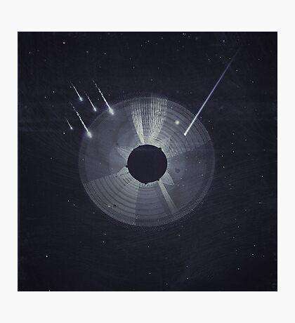 Vintage Cosmos: Black Hole Photographic Print
