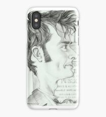 '10th Doctor' gourmet caricature by Sheik iPhone Case/Skin