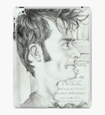 '10th Doctor' gourmet caricature by Sheik iPad Case/Skin