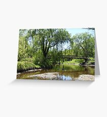 Ecology Park Bridge Greeting Card
