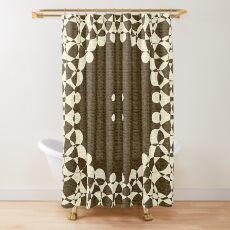 Papaya Whip Blanket Shower Curtain