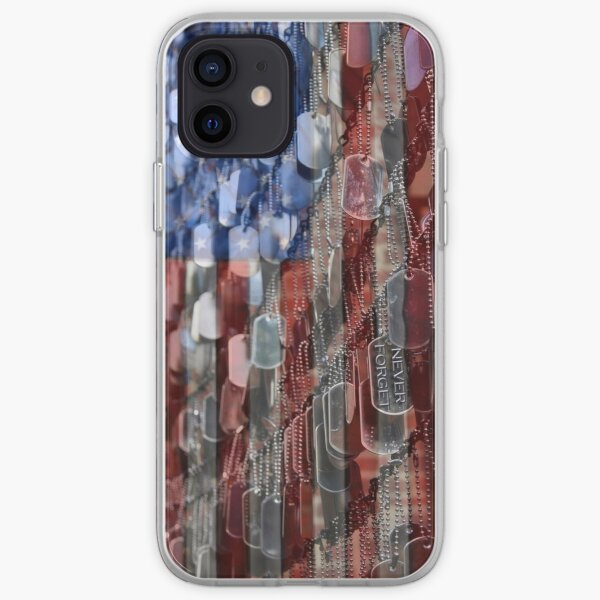 Never Forget American Sacrifice iPhone Soft Case