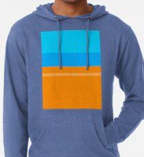 Orange & Blue Lightweight Hoodie