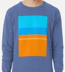 Orange & Blue Lightweight Sweatshirt