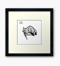 DoubleZodiac - Libra Sheep/Goat Framed Print