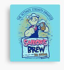Sailor's Brew Canvas Print
