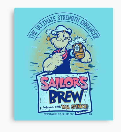 Sailor's Brew Canvas Print