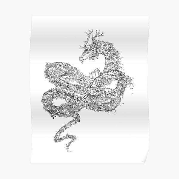 Autumn Dragon Poster