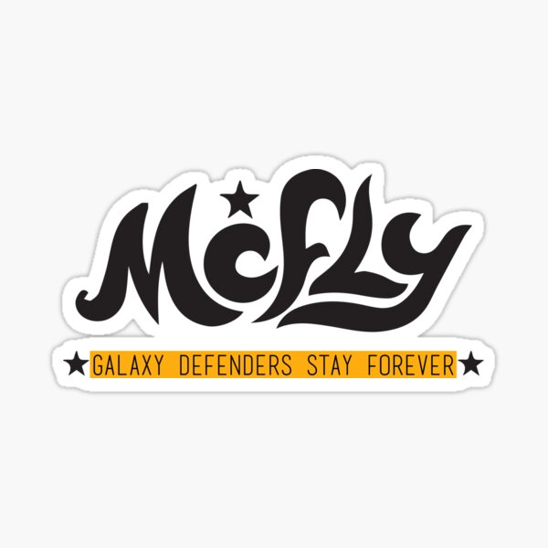 galaxy defenders stay forever Sticker