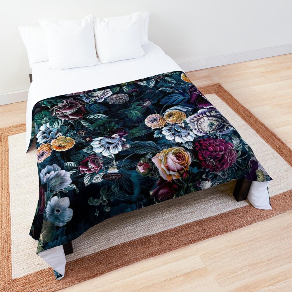 Night Flowers Comforter