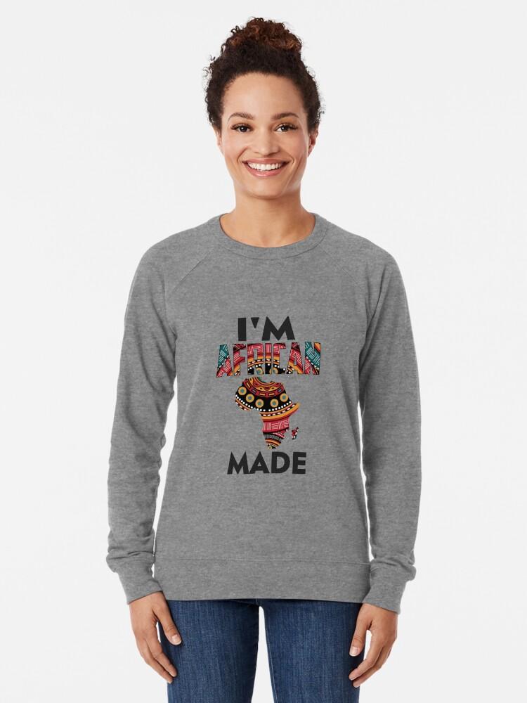 Alternate view of Im African Made Lightweight Sweatshirt