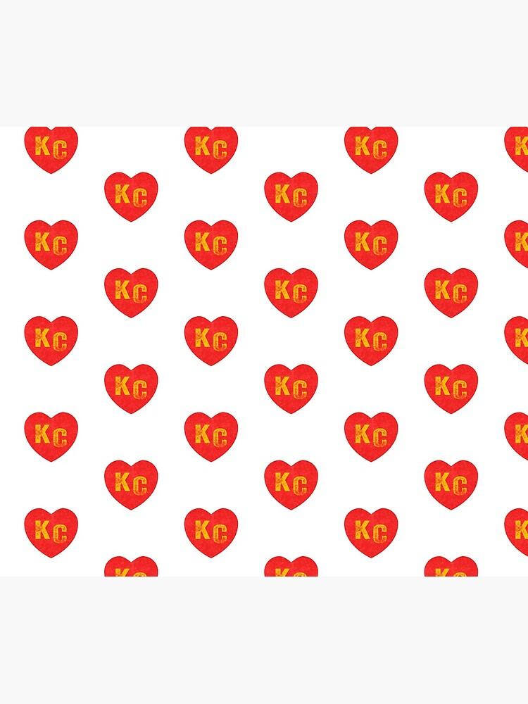 KC Heart Kansas City Hearts I love Kc heart monogram KC Face mask Kansas City facemask by kcfanshop