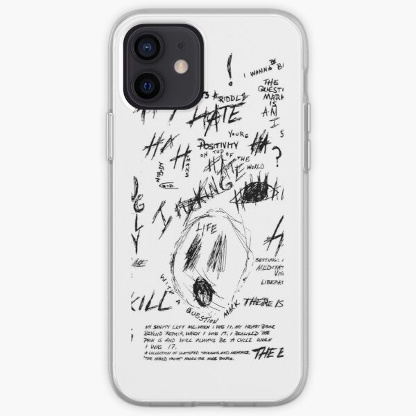 XXXTENTACION TATOO Coque souple iPhone