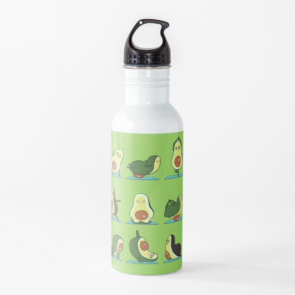 Avocado Yoga Water Bottle