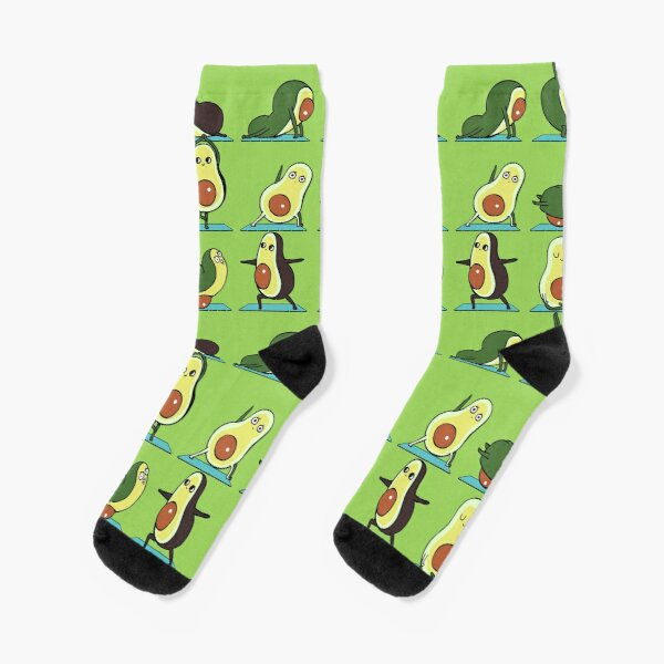 Avocado Yoga Socks
