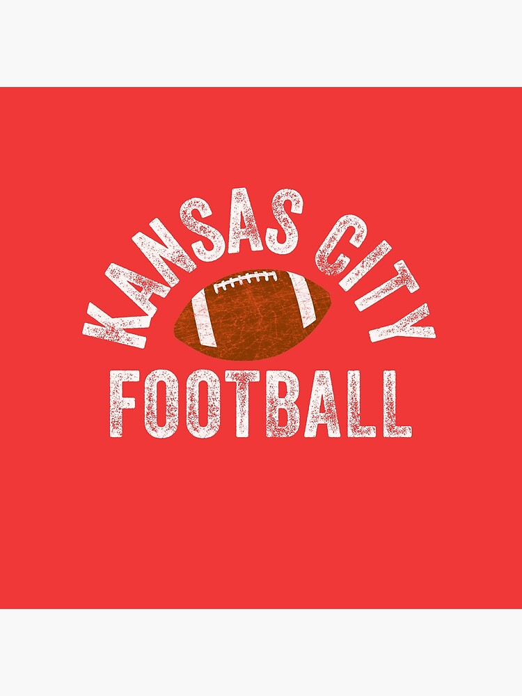 Kansas City Football Tribal KC Vintage football Kc Classic KC Face mask Kansas City facemask by kcfanshop