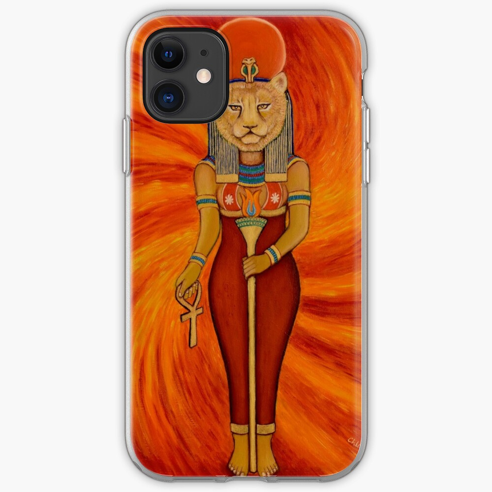 Sekhmet Egyptian Lioness Goddess  iPhone Case & Cover