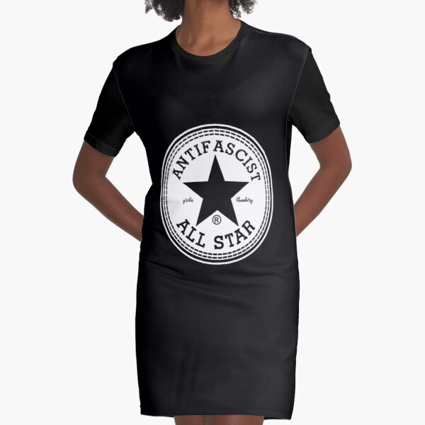 greta thunberg antifascist  Graphic T-Shirt Dress