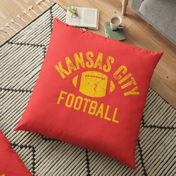 Football Kansas City football KC Unique Vintage Kc Original Floor Pillow