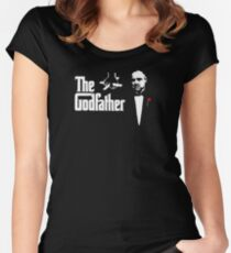 Padrino The Godfather Women's Fitted Scoop T-Shirt