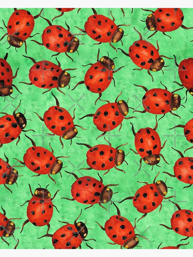 Watercolor Ladybugs by creativinchi