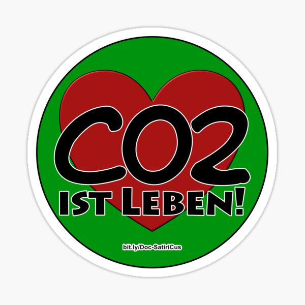 Copy of CO2 is life! | Love! (3) Sticker
