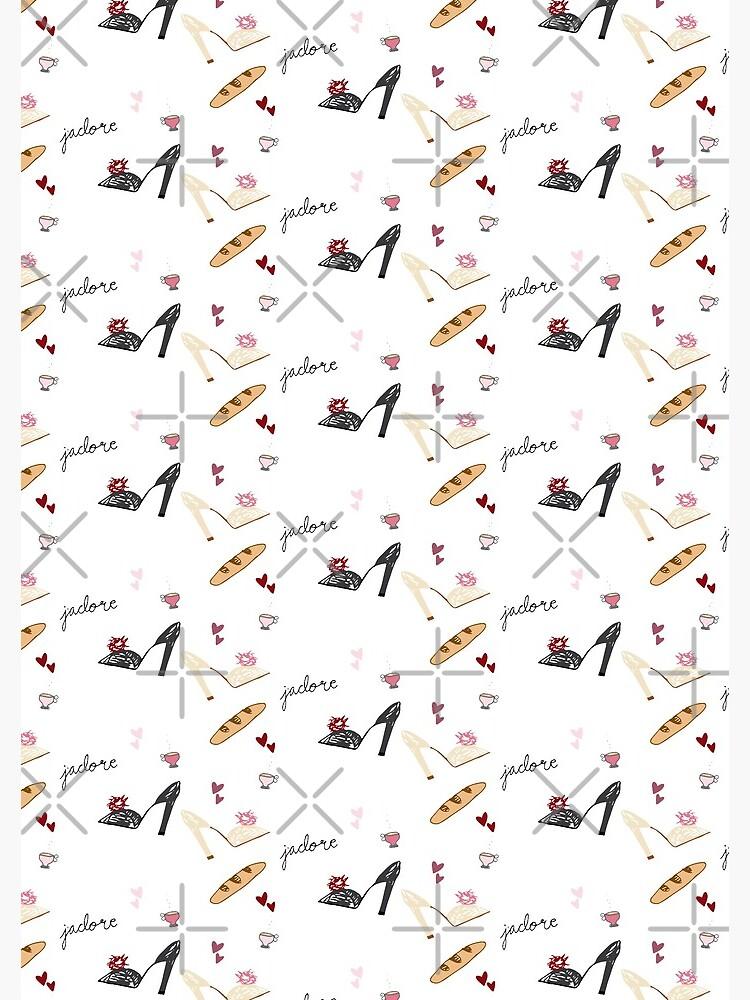 J'Adore Pattern Sticker Pack by darrianrebecca