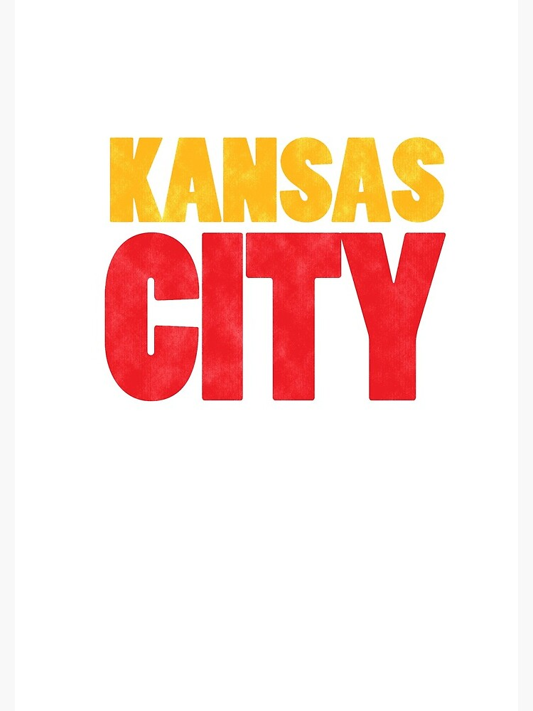 Kansas City Logo Kc Red & Yellow KC Cool Locals Gear KC Face mask Kansas City facemask by kcfanshop