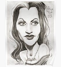 'Lily' gourmet caricature by Sheik Poster